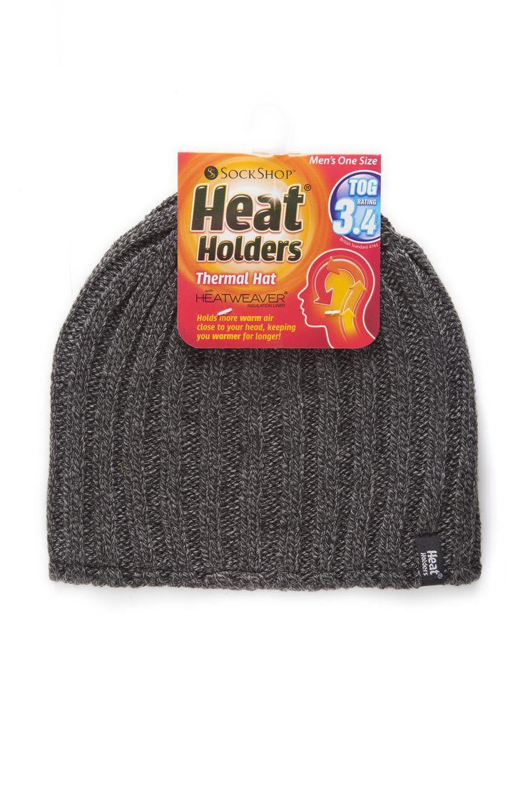 Mens Heat Holder Hat