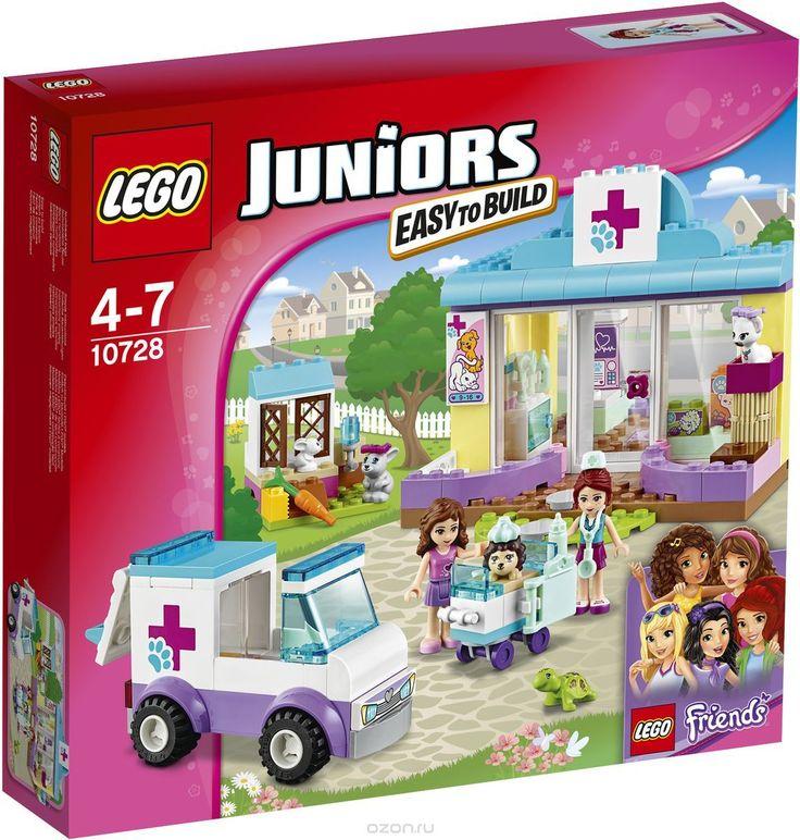Купить LEGO Juniors Конструктор Ветеринарная клиника Мии 10728 - детские товары…