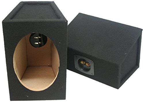speakers in box. car audio custom 6 x 9 sealed hi quality pair speaker enclosure unloaded box \u003e\u003e speakers in b