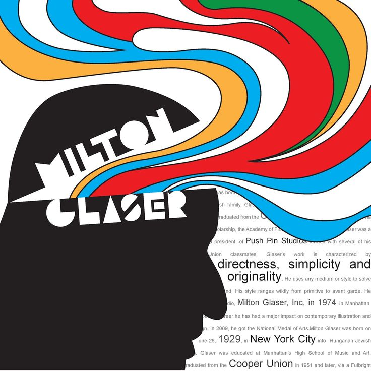 1000+ images about Milton Glaser on Pinterest | Milton ...