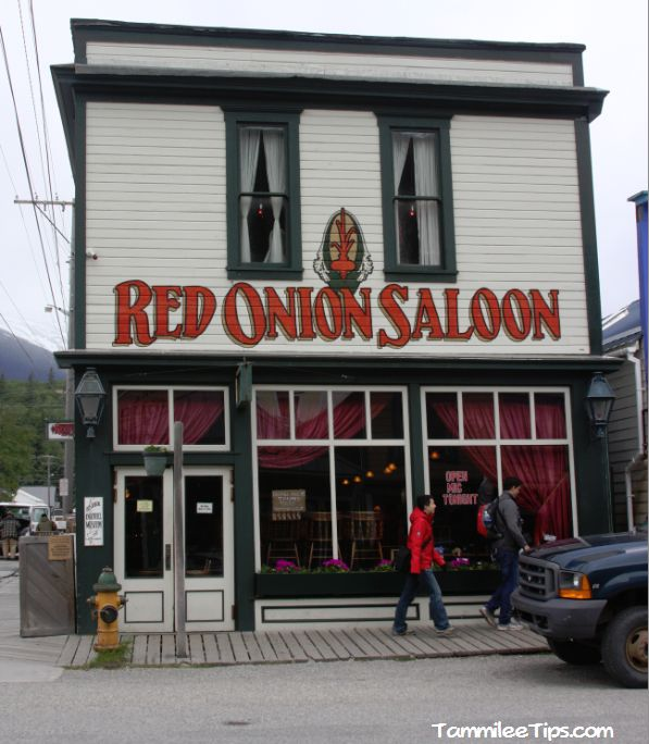 Red Onion Saloon, Skagway Alaska....we had lunch here! Unique place!