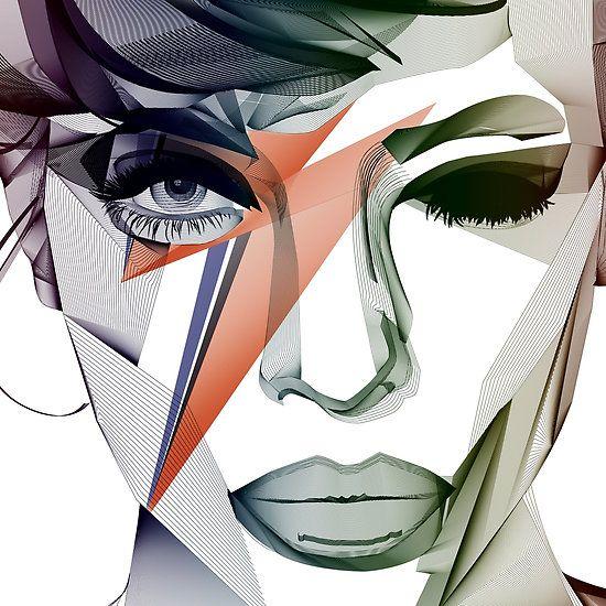 David Bowie Blend Tribute