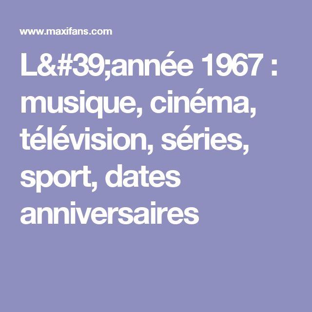 lanne 1967 musique cinma tlvision sries sport dates - Ide Chanson Personnalise Mariage