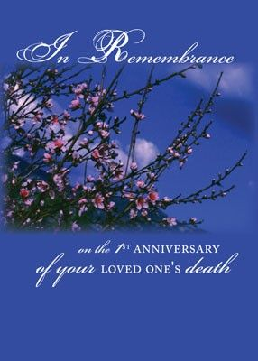death anniversary cards sayings