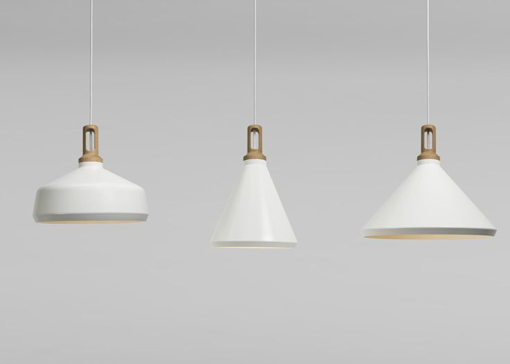 Nonla Aluminium Hanging Lamps by Paul Crofts Studio