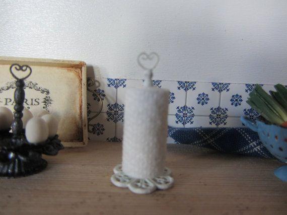VERKOOP KIT Kitchen handdoek houder kleur door MichaelasMiniaturen