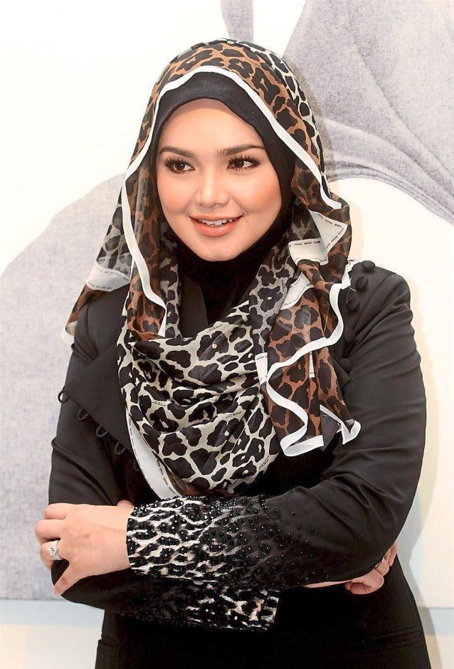 Siti Nurhaliza at Istana Budaya.