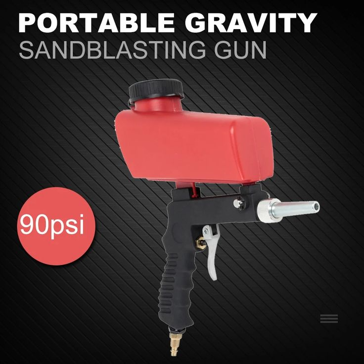 Transportable Gravity Sandblaster #workshop device