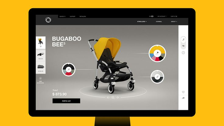 Bugaboo.com - Site of the Day July 25 2015