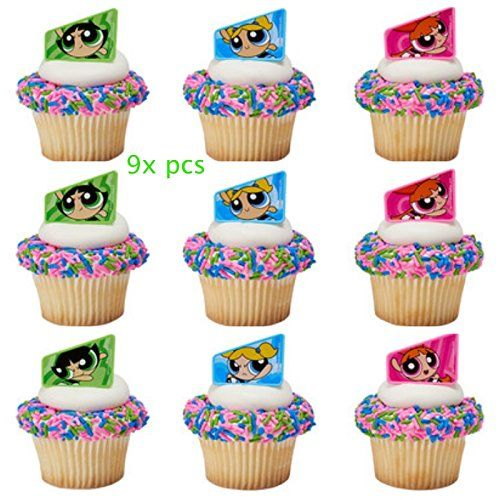 New Years Eve 30 Edible Wafer Paper Cupcake Toppers Cake Decorations #1