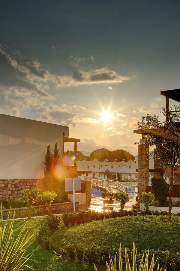 Sunrise in Pefkos, Rhodes, Greece
