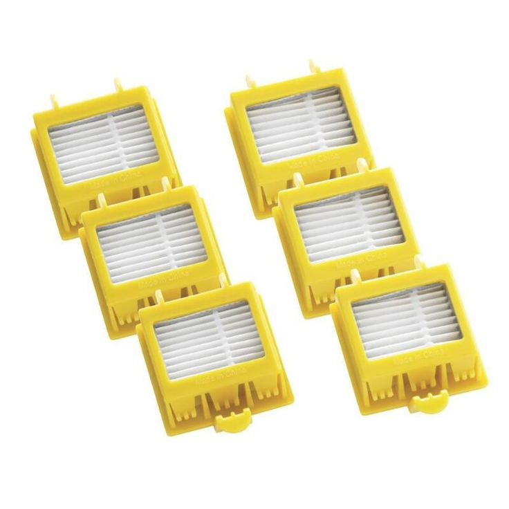 6 unids filtro hepa de reemplazo limpio herramienta kit de ajuste para irobot roomba 700 series 760 770 780 790 envío gratis