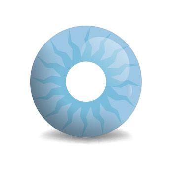 Blue Shining - Kosmos-Blau (blaue Kontaktlinse)