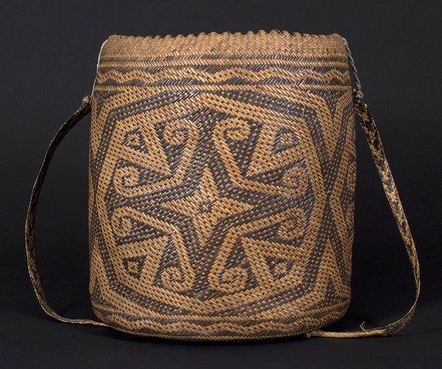 Ajat basket, Penan people. Borneo   20th century
