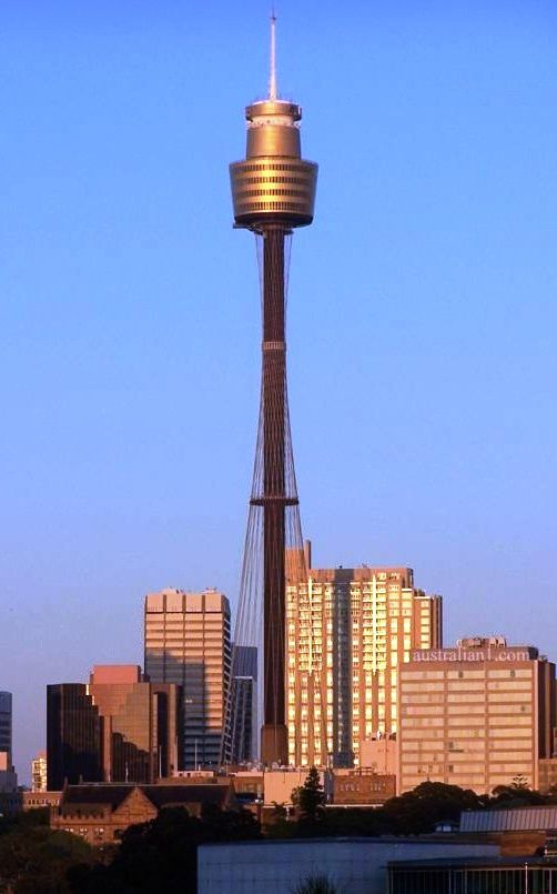 Do the Skywalk on The Sydney Tower
