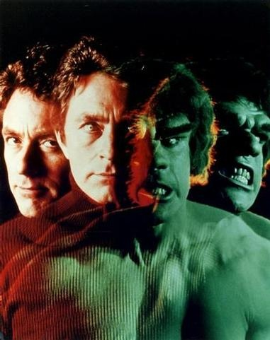 Unless you like Lou Ferrigno covered in green paint flexin' all over the place, don't make Bill Bixby angry. ®... #{T.R.L.}