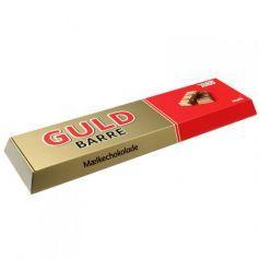 KÆMPE GULD BARRE - mega fed dele-chokoladegave - Firmagaver deluxe