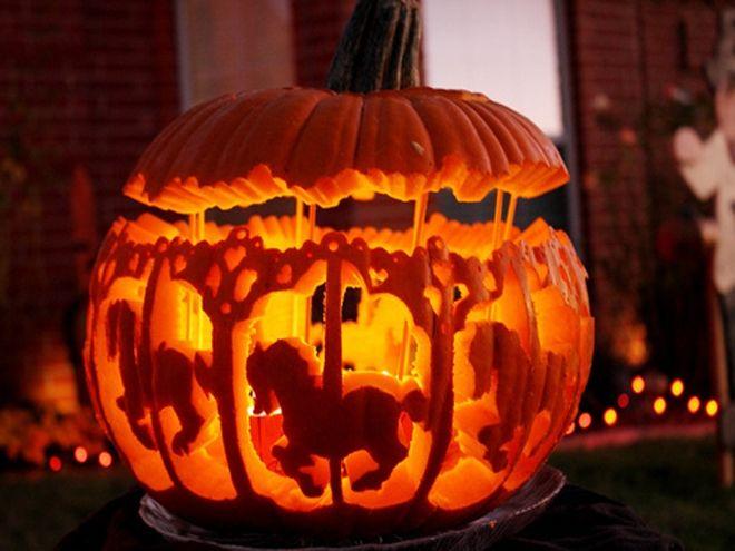 Best jack o lantern carvings pumpkin dog