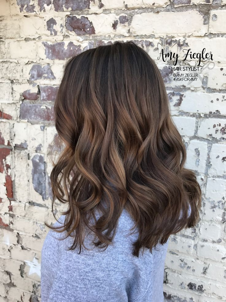 Caramel Balayage Babylights By Amy Ziegler In 2019