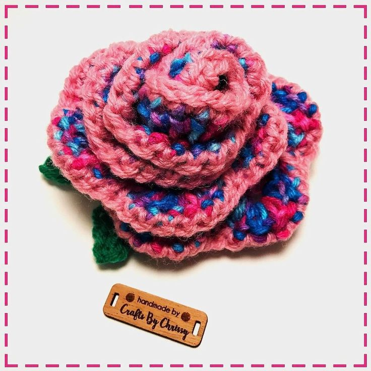 No every rose  is red. Roses can be candy coated too     #rose #candycoated #cottoncandy #colorful #handmade #handcrafted #crocheter #crochetlife #handmaderose #crochetgoodness #crochetgirlgang #crochetgeek #vkdtbo #flower #varigatedyarn #craftsbychrissycreation #hotoffthehook #yarnlove