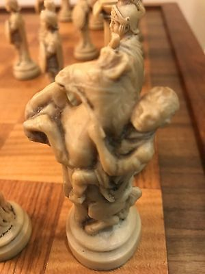 Very Old Rare Chess Set 32 pieces Excellent Condition.