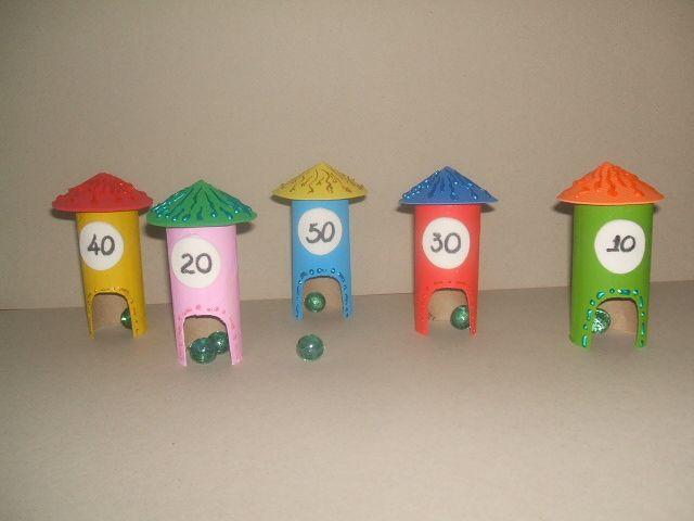 juegos con material reciclable - Buscar con Google
