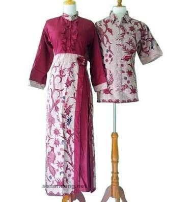 Hasil gambar untuk dress batik elegan kombinasi brokat
