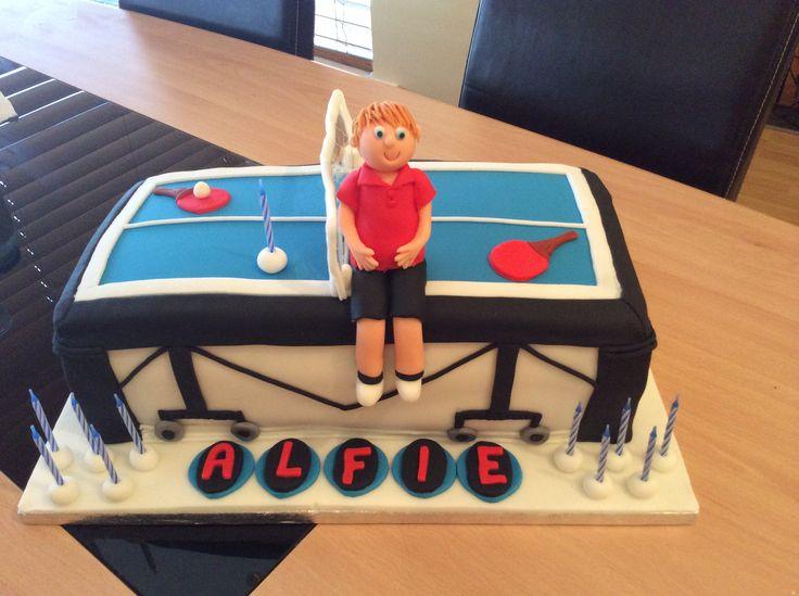Birthday Cake Table Tennis