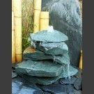 Kaskaden Komplettset Brunnen grüner Dolomit 5stuf…