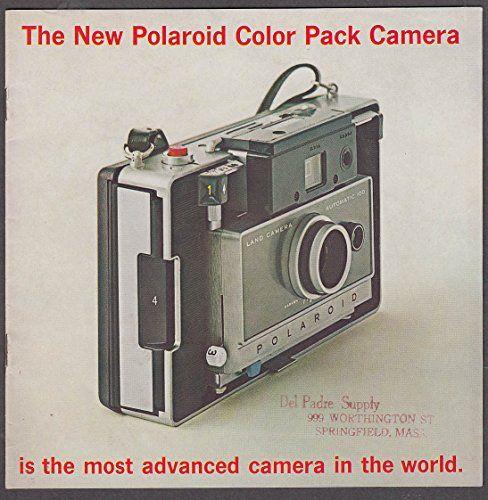 Polaroid Color Pack Camera sales brochure 1969