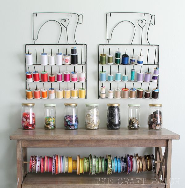 Adorable craft room. You have to see the whole thing!