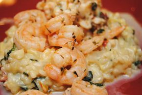 Risotto crevettes et curry recette WW au thermomix