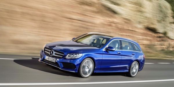 How 2015 Mercedes C-Class Estate accomplishes more with less