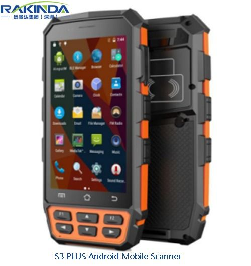 S3 PLUS Android Mobile Computer   Handheld Barcode Scanner