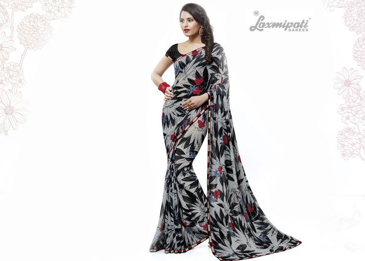 Buy this Stunning Multicolor Georgette Saree along with Fancy Fabric Blouse with Printed Lace Border by Laxmipati. Look fresh, look chic! Limited stock! 100% Genuine products! #Catalogue # SURPREET  Price - Rs. 1731.00 Visit for more designs@ www.laxmipati.com #Sarees #ReadyToWear #OccasionWear #Ethnicwear #FestivalSarees #Fashion #Fashionista #Couture #LaxmipatiSaree #Autumn #Winter #Women #Her #She #Mystery #Lingerie #Black #Lifestyle #Life…