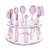 Docolor 10 Hole Transparent Oval Makeup Brush Holder