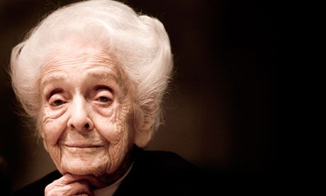 Rita Levi-Montalcini had to battle against antisemitism and sexism. Photograph: Alessandra Benedetti