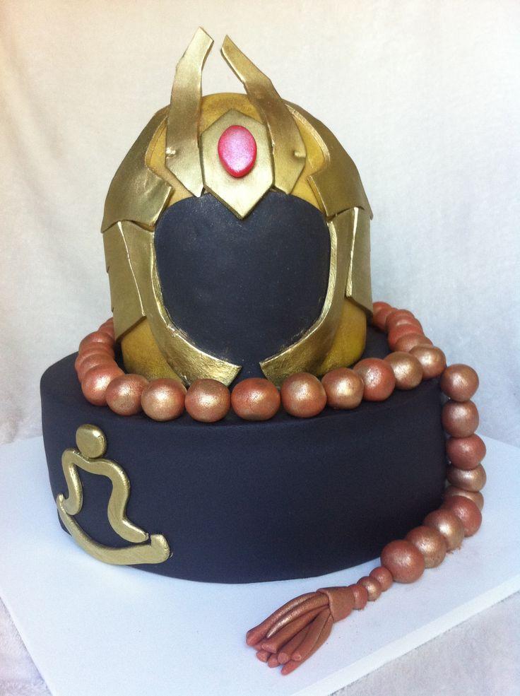 Saint Seiya Cake