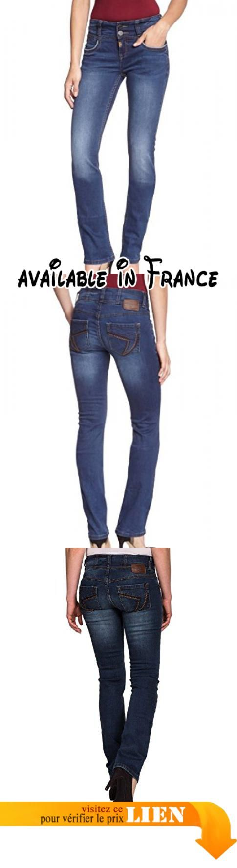 B007FPY540 : Timezone - Jean Straight Fit - Femme - Bleu (Dark Navy Wash 3186) - FR : 26W/34L ( Taille fabricant : 26/34). #Apparel #PANTS