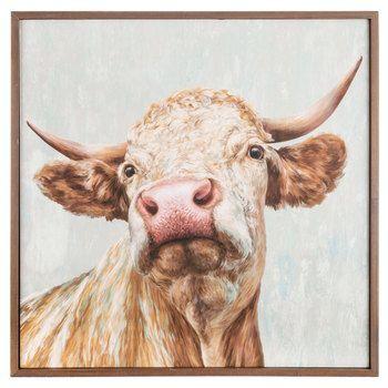 Bull Framed Wood Wall Decor Hobby Lobby 1475656