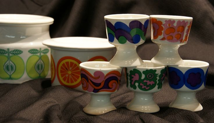 Finnish Arabia egg cups