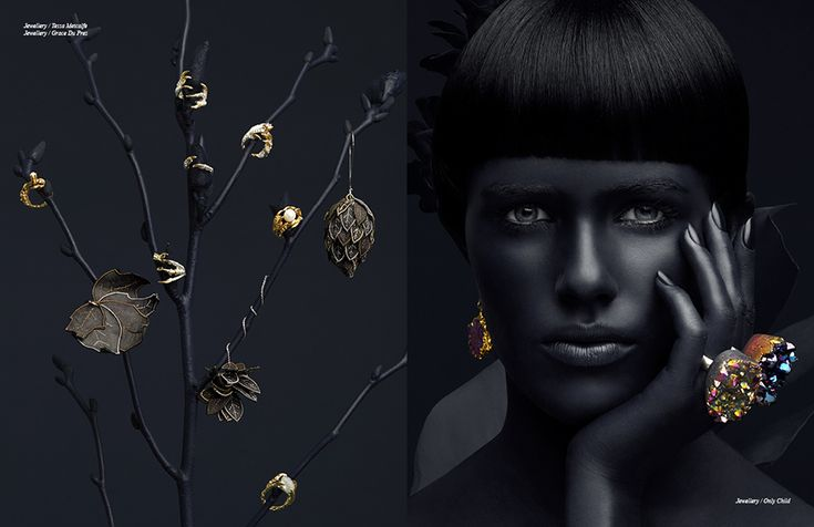 Left Jewellery / Tessa Metcalfe Jewellery / Grace Du Prez Right Jewellery / Only Child