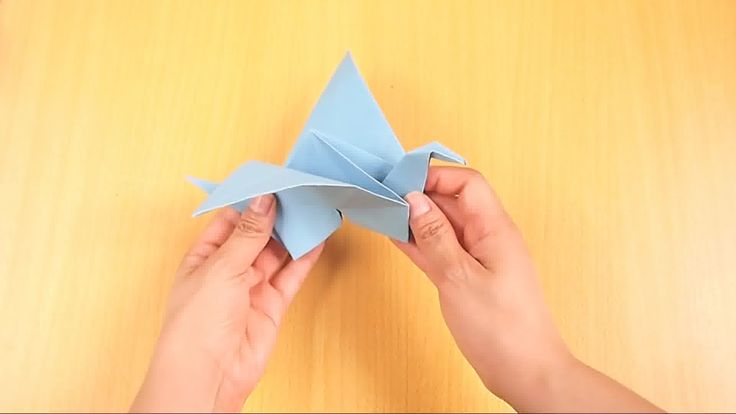 How to Make an Origami Flying Bird -- via wikiHow.com