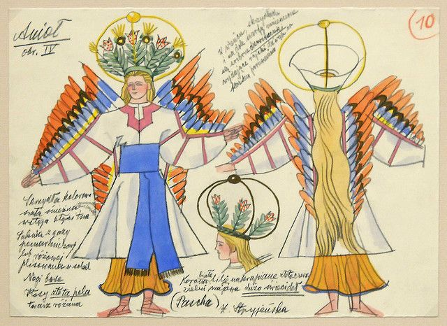 Costume design by Zofia Stryjeńska