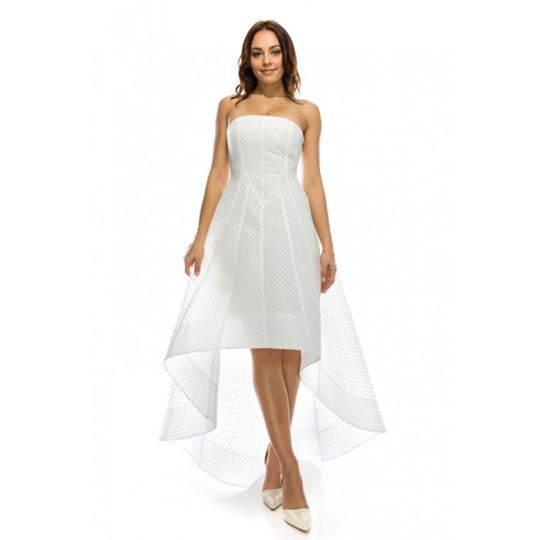 solid white tube dress sold by afterlife clothing 48 00 w free