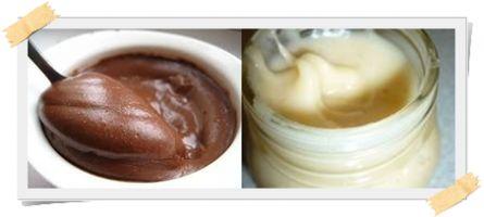 Creme spalmabili: dutella e dutella bianca per la dieta Dukan