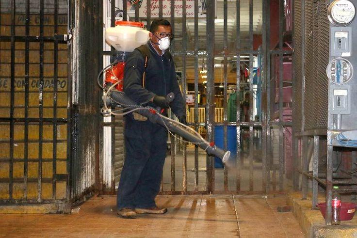 Reabre Mercado Jesús Carranza tras mantenimiento, limpieza y fumigación