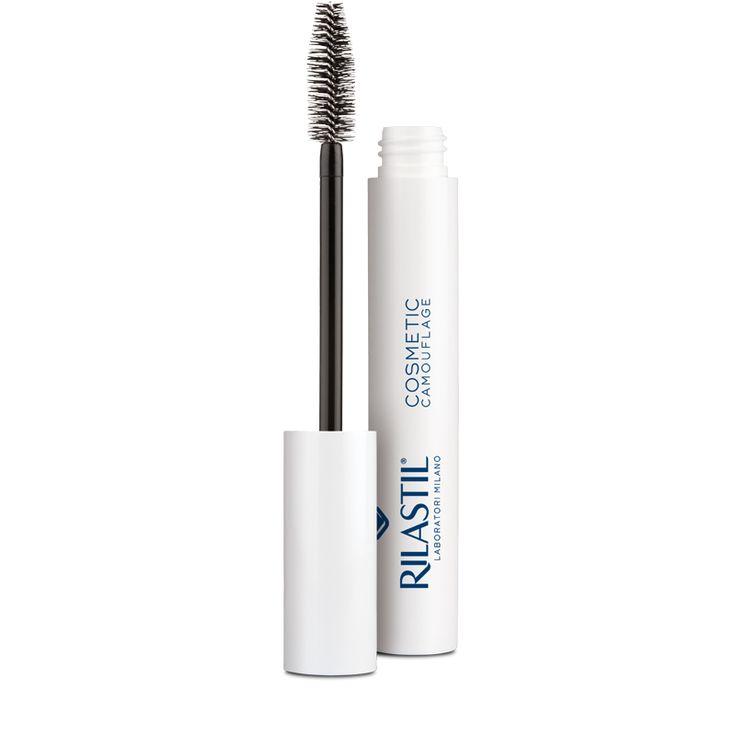 #makeup #skincare #cosmetics Rilastil Cosmetic Camouflage Strengthening Mascara With Volumizing Effect Deep Black: Innovative formula ,…