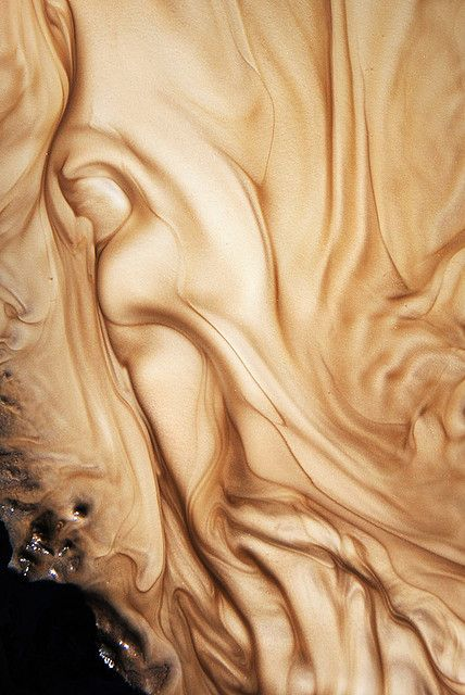 Sylvain Meyer took this amazing picture of a stream of sandy water runoff…