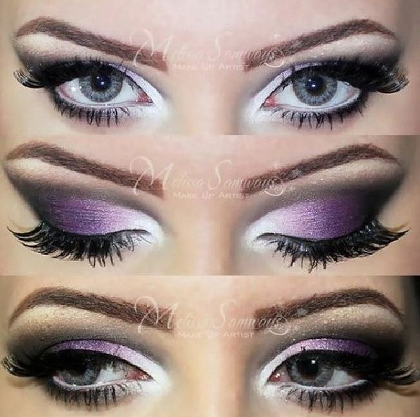 Purple and Silver Shadows ❤️